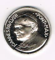 &-  VATICAAN   JOANNES  PAULUS II  PONT MAX SINT PIETERSPLEIN  HERDENKINGSMUNT - Vatican