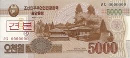 COREE DU NORD 5000 WON 2013 UNC P 67 S - Corea Del Norte