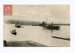 !!! CPA DE LA REUNION : LE PORT DE SAINT-PIERRE - Réunion