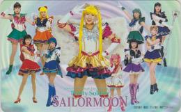 RARE Télécarte NEUVE Japon / 110-016 - MANGA - SAILORMOON ** Musical ** -  ANIME Japan MINT Phonecard - 10317 - Comics