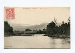 !!! CPA DE LA REUNION : ST BENOIT, LA RIVIERE DES MARSOUINS - Réunion
