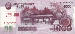 COREE DU NORD 1000 WON 2008 UNC P 64 S - Corea Del Nord
