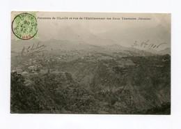 !!! CPA DE LA REUNION DE 1906 : PANORAMA DE CILAOS - Réunion