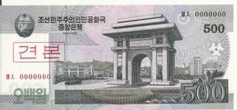 COREE DU NORD 500 WON 2008 UNC P 63 S - Corea Del Norte