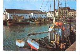 Le Croisic (Loire Atlantique)-Le Port De Pêche Et La Criée-Bateaux- - Le Croisic
