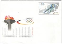 GERMANIA - GERMANY - Deutschland - ALLEMAGNE - 56+26 2002 Salt Lake City Olympic Games - Eisschnell-Lauf Für Den Sport - - Winter 2002: Salt Lake City