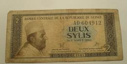 1981 - Guinée - Guinea - 2 SYLIS, Le 1er MARS 1960, A D  604912 - Guinea