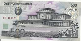 COREE DU NORD 500 WON 1998(2007) UNC P 55 - Corea Del Nord