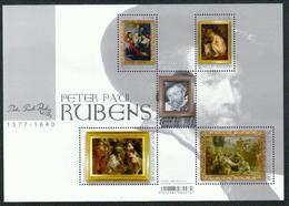 Belgien Block 'Peter Paul Rubens' / Belgium M/s 'Peter Paul Rubens' **/MNH 2018 - Rubens