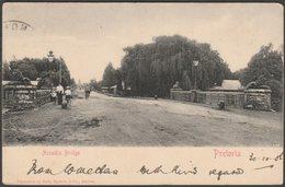 Arcadia Bridge, Pretoria, Transvaal, 1905 - Sallo Epstein U/B Postcard - South Africa