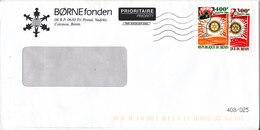 Benin Börnefonden Cover Sent To Denmark 31-12-2005 With Rotary Stamps - Benin - Dahomey (1960-...)
