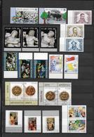 VATICAN - 2006 - ANNEE INCOMPLETE  ** - 22 VALEURS - VALEUR FACIALE = 18.24 EUR. - Collections