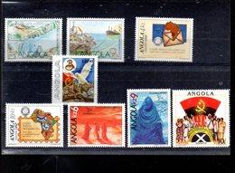 ANGOLA LOT ENTRE 768 ET 815** SUR DIVERS SUJETS DONT PEINTURES ANGOLAISES - Angola