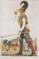 Uniformes Allemands De 1800 à 1810  - N°110 Garde Cavallerie  -  HAUS NEUERBURG Cigarettes Allemandes 1932 - Cigarette Cards