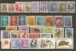 Albanie 1960/9 - Petit Lot De 54 Timbres - 1 Série Complète° : 907/914 - Reptiles - Albanie