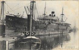 Dunkerque - Bateau De Commerce: Un Cargo-Boat Des Chargeurs Réunis - Carte LL N° 27 - Commerce