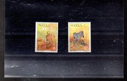 ANGOLA 836/837** SUR LA CROIX ROUGE ANGOLAISE - Angola