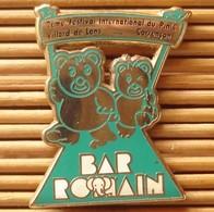 Pin's Bar Romain, Festival Du Pin's, Zamac, Pins Pin. - Beverages