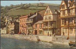 South Embankment, Dartmouth, Devon, 1965 - Jarrold Postcard - England