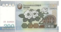 COREE DU NORD 200 WON 2005 UNC P 48 - Corea Del Nord