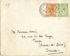 Grande-Bretagne 1931 - Enveloppe De Newport Pagnell/UK à Tours/France - Lettres & Documents