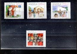 ANGOLA 854/857** SUR LE 500E ANNIVERSAIRE DE L EVANGELISATION DE L ANGOLA - Angola