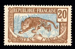 Congo Français 1907: N° 53* (YT54) Très Bon Centrage - B/TB - Frans-Kongo (1891-1960)