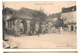 Souillac - La Halle -  CPA° - Souillac