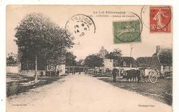 Couzou - Avenue De Gramat  -  CPA° - France