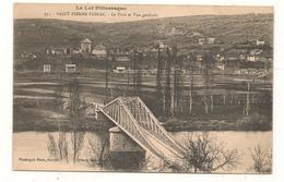 Saint Pierre De Toirac - Le Pont Et Vue Generale  -  CPA° - Altri Comuni