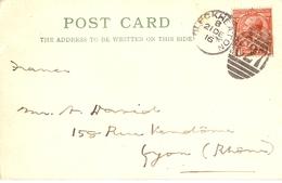 Grande-Bretagne 1916 - Post Card - Carte Postale Commerciale - Haley & Son - De Cleckheaton à Lyon - Lettres & Documents