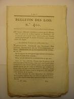 BULLETIN DE LOIS De 1811 DETENUS HAMBOURG ENVOYES BAGNES CUIR  POLDER BELGIQUE HOLLANDE PAYS BAS - VIGNES SIMPLON SUISSE - Decrees & Laws