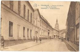 Belgique - TIRLEMONT - THIENEN - TIENEN - CASERNE D'ARTILLERIE  Animation - édit.P.J.FLION Bruxelles  1923 - Tienen