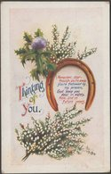 Greetings, Thinking Of You, C.1910 - Regent Postcard - Holidays & Celebrations
