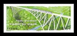 France 2018 Mih. 7068 Bridge Viaur Viaduct. Train MNH ** - Frankreich