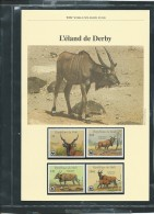 Dossier Wwf Complet - L'eland  De  Derby ( Voir Les Scans ) -(  11/08/1986 ) - Fab 65 - Mali (1959-...)