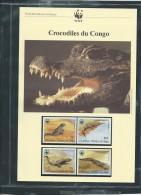 Dossier Wwf Complet - Crocodiles Du Congo  ( R P. Du Congo  )  ( Voir Les Scans ) -(  22/01/1987 ) - Fab 69 - Congo - Brazzaville