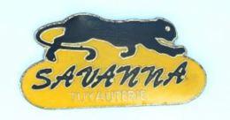 Pin's Tuyauterie SAVANNA - La Panthère Noire - H180 - Trademarks