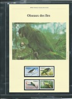 Dossier Wwf Complet - Oiseaux Des Iles    (   Dominique    )  ( Voir Les Scans ) -(  1984 ) - Fab 72 - Dominica (1978-...)