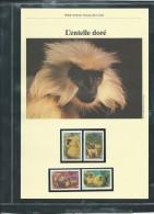 Dossier Wwf Complet -  L'entelle Doré   (  Bhoutan   )  ( Voir Les Scans ) -(  1984 ) - Fab 75 - Bhoutan