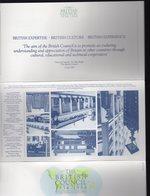 Bloc Du BRITISH COUNCIL 1934-1984, Sous Blister Ouvert, Avec Les 4 Timbres - Blocs-feuillets