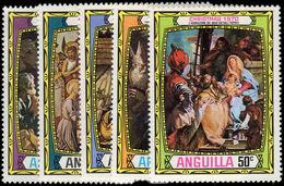 Anguilla 1970 Christmas Unmounted Mint. - Anguilla (1968-...)