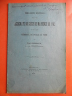 PAUL BORDEAUX ASSIGNATS DU SIEGE DE MAYENCE 1793 ET MEREAUX DU PEAGE DU PONT Envoi AUTOGRAPHE - Libri & Software