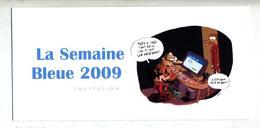 Carte Invitation Semaine Bleur Colmar Theme Ordinateur - Non Classés