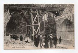 - CPA MILITAIRES - 1914 - Pont Détruit Par Les Allemands Entre Amiens Et Rouen (belle Animation) - Edition Lilia 240 - - Guerre 1914-18