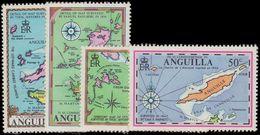 Anguilla 1972 Maps Unmounted Mint. - Anguilla (1968-...)