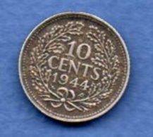 Pays Bas - 10 Cent 1944 --   état  TTB - [ 3] 1815-… : Kingdom Of The Netherlands