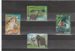 FRANCE 2008 FAUNE PREHISTORIQUE 4175 A 4178 NEUF**                  -                   TDA244 - Unused Stamps