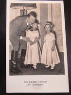 Postkarte Postcard Propaganda Hitler - Töchter Goebbels - Photo Hoffmann - Allemagne