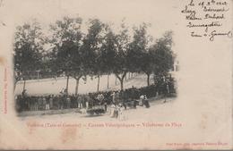 CPA 26 VALENCE Les Courses Vélocipédiques, Vélodrome Du Plaça - Année 1902 - Valence